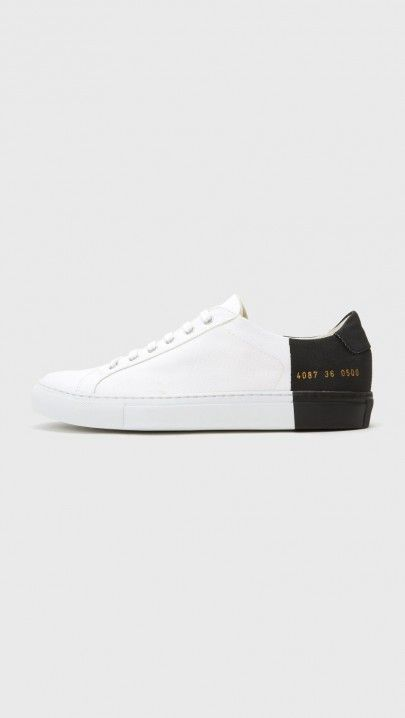 Woman by Common Projects x 6397 Sneaker in Black/White | The Dreslyn