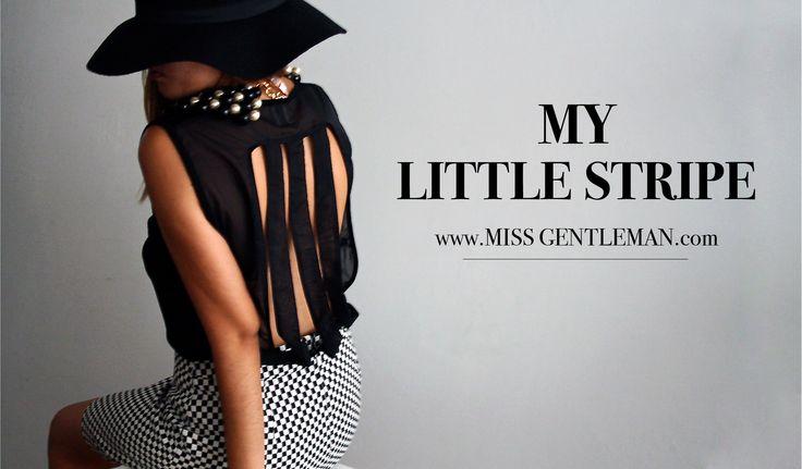 """""""my little stripe"""" top"""