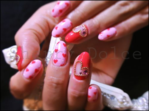 149 best Valentine Nails designs images on Pinterest | Cute nails ...