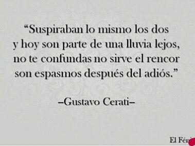 Gustavo Cerati.