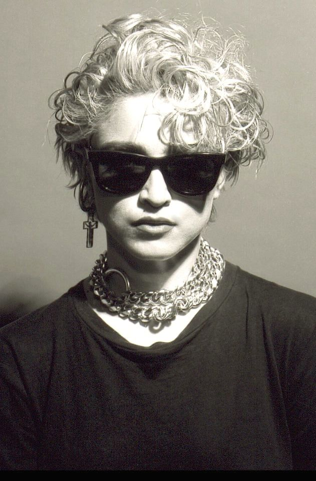 I apologize for all the pictures of Madonna, but you simply can't do an 80's board without her.