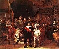 Rembrandt- pintor holandes  o quadro a Ronda