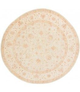 Ziegler Teppich  Dieser schöne Ziegler Teppich 00012213 stammt aus Pakistan und hat die Farbe Beige. Der Teppich ist aus hochwertigem Material Handgesponnene Wolle gefertigt und ist 242x249 cm groß, was einer Fläche von 6.03 m² entspricht. Dieser Ziegler Teppich besticht durch eine aufwendige Fertigung und einer Florhöhe von ca. 7 mm.   Verarbeitung: Handgeknüpft