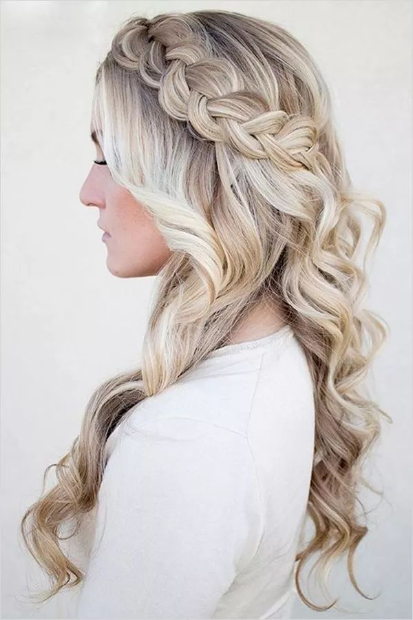 Brilliant 1000 Ideas About Braided Hairstyles On Pinterest Braids Hairstyle Inspiration Daily Dogsangcom