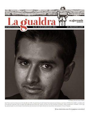 """bUNKER 84: """"Escribir un libro es una decisión de vida"""" (entrevista realizada por Lola Ancira para La Jornada)"""