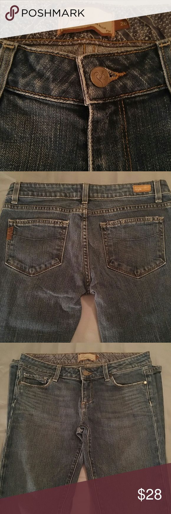 💕Final Sale Paige Laurel Canyon Boot Cut 28 Jeans Paige Laurel Canyon Boot Cut Size 28 Jeans, inseam 29, rise 8 1/2, gorgeous jeans, 98% cotton, 2% spandex...so comfortable Paige Jeans Jeans Boot Cut