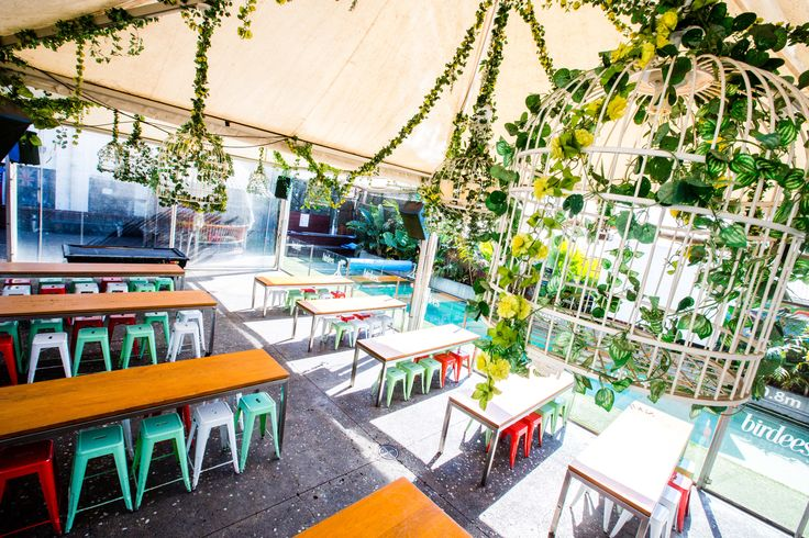 Beer garden  #theaviary #birdees #bar #brisbane #design #nightclub #party #functions #beergarden
