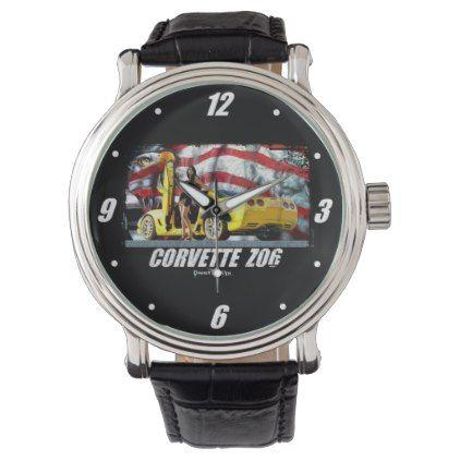 2004 Corvette Z06 Wrist Watch - antique gifts stylish cool diy custom