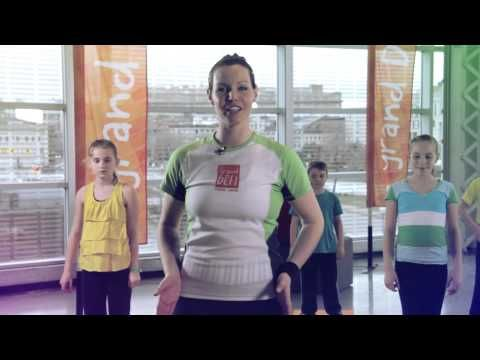(1) Entraînement Bouge au cube! - Grand défi Pierre Lavoie - YouTube