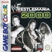 WWE Wrestlemania 2000 Game Boy