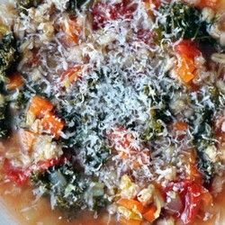 Dinner Tonight Italian Kale and Farro Soup