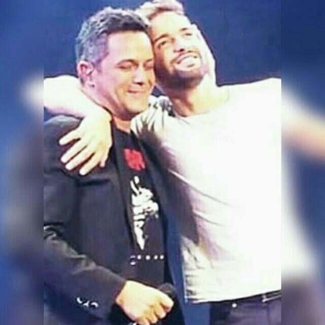 Pablo Alboran y Alejandro Sanz en Las Ventas de Madrid. 13/06/15 Tour Terral