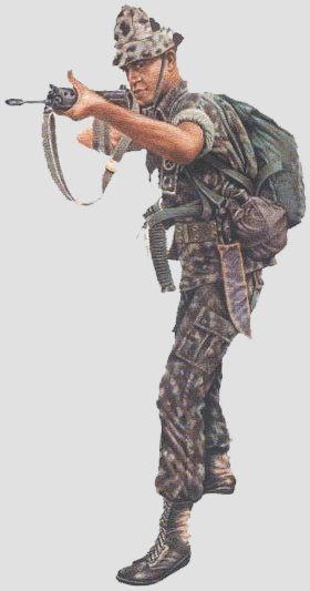 Combatentes - Infantaria de selva do Exército Brasileiro