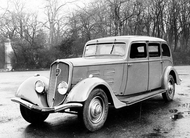 PEUGEOT 601, 1934 #PEUGEOT #601 #Classic #car #30s #vintage #sechszylindermotor…