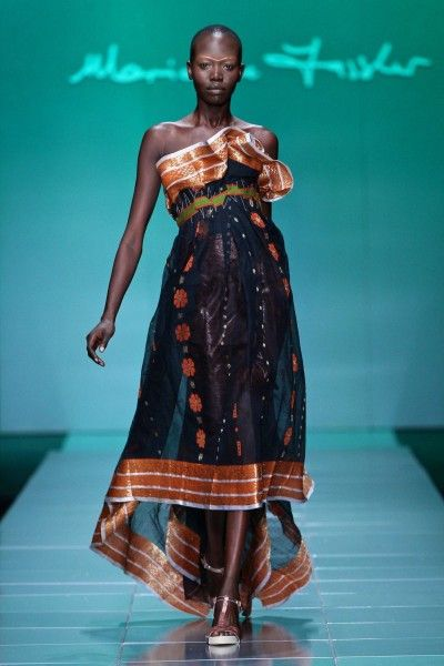 """Mercedes-Benz Fashion Week Africa 2013: Marianne Fassler presents """"Painted, Patched & Patterned"""""""