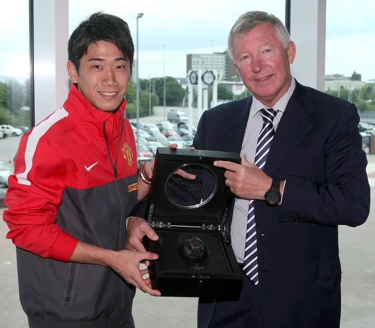 Sir Alex Ferguson & Shinji Kagawa