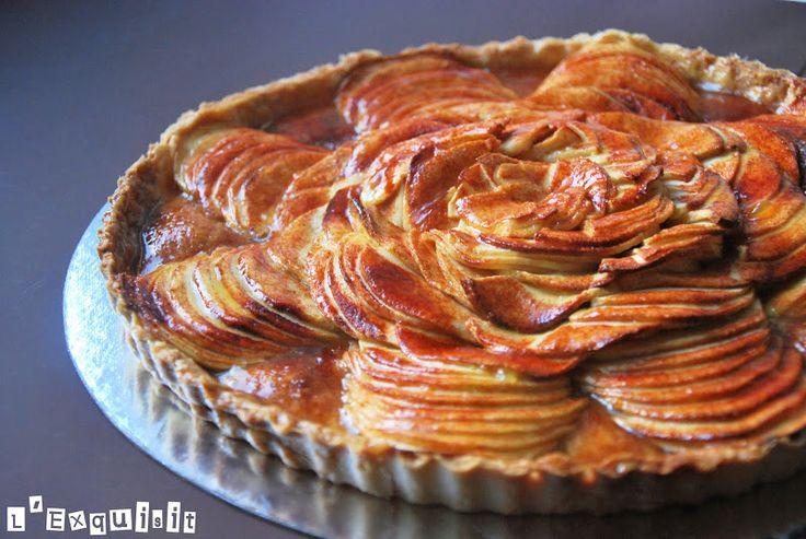 Tarta fina de manzana | L'Exquisit
