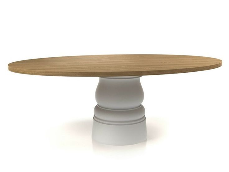 Oval wooden table CONTAINER 210 Container Collection by Moooi© | design Marcel Wanders