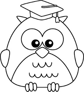 3 free owl digi' stamps from Jaded Blossom