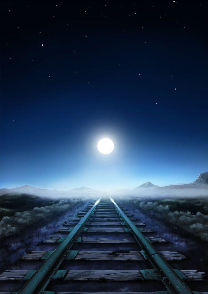 Tracks Along the Moor