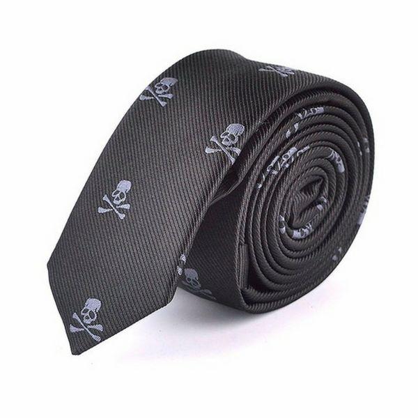 Men's Skull Tie