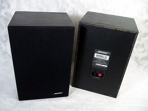 Best Bookshelf Speakers >> $69.99 or best offer BOSE Model 21 Speaker System Bookshelf Black Made in USA #Bose ...