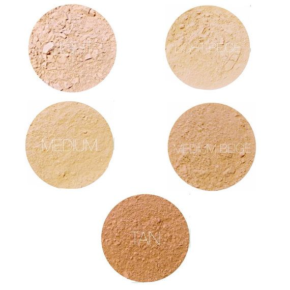 MINERAL FOUNDATION SAMPLES:  Now you can try Earth Mineral Cosmetics brand of natural makeup mineral foundation to find the shade thats right for you.  I custom blend and hand craft all the items in my shop using one of a kind formulas with all natural ingredients. I use simple, pure ingredients in my mineral makeup. Made WITHOUT TITANIUM DIOXIDE, BORON NITRIDE, MAGNESIUM STEARATE, BISMUTH OXYCHLORIDE. If you would like a heavy coverage powder, let me know and I can customize that for you…