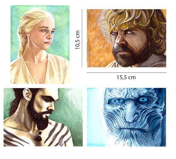 Game of Thrones_mini acquerelli