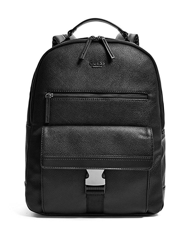 fc0d87eb452b Affiliate  GUESS Factory Men s Jordan Backpack  Guess  Leather  Bag ...