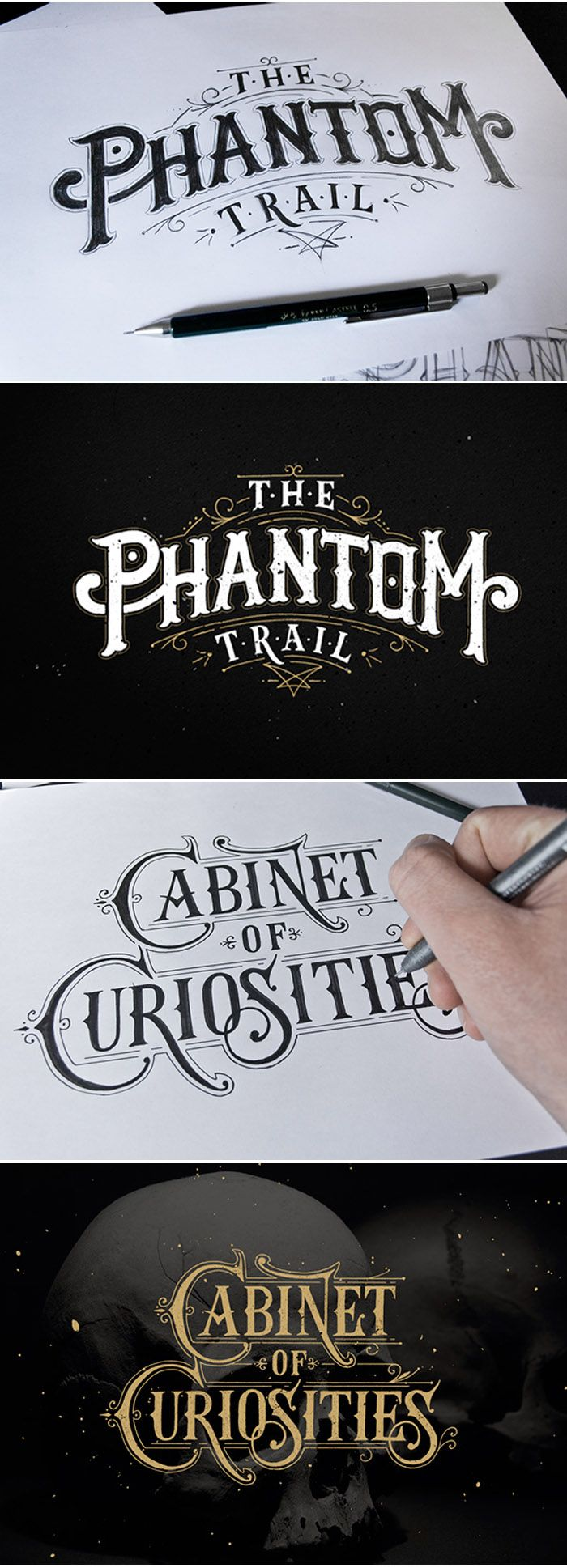 Hand Lettering by Tobias Saul #handlettering #calligraphy #typography…
