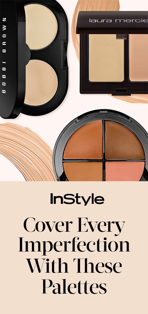 These Concealer Palettes Are Guaranteed to Hide All of Your Skin's Secrets | from InStyle.com