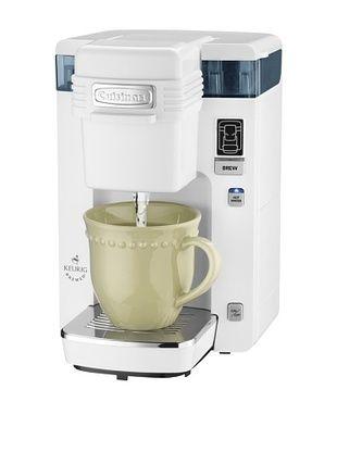 40% OFF Cuisinart Compact Single-Serve Coffeemaker (White)