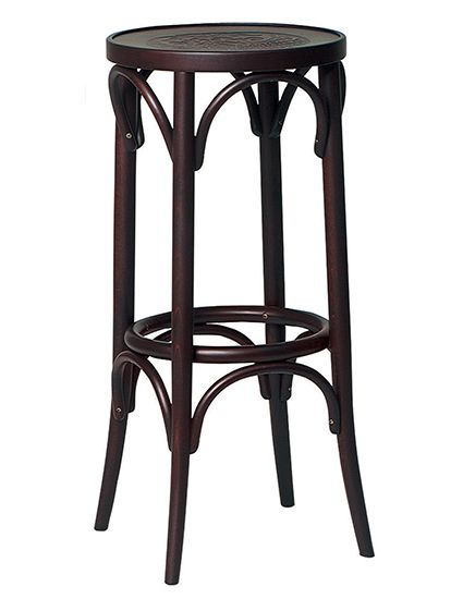 The Bentwood No. 73 features a traditional looking backless barstool, featuring…