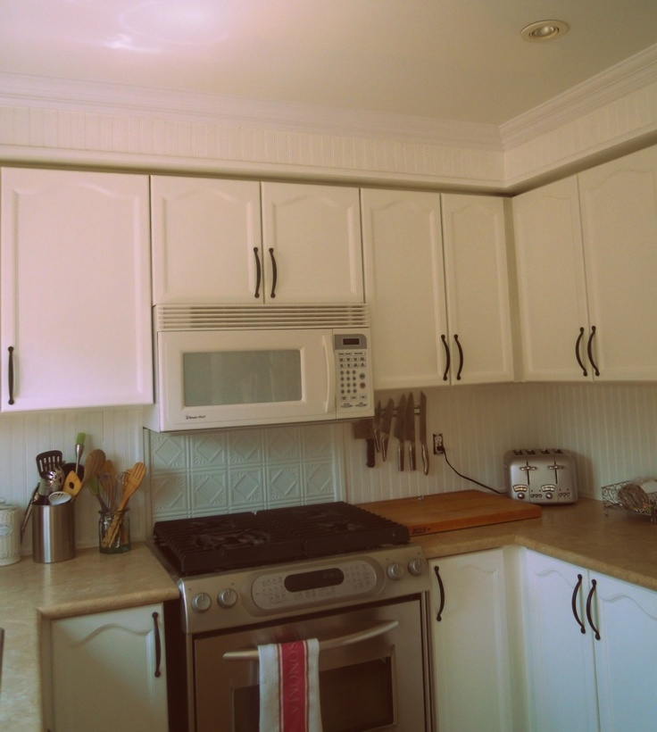 Kitchen Tile Backsplash Cover Up: Similar In Feel To Our Kitchen