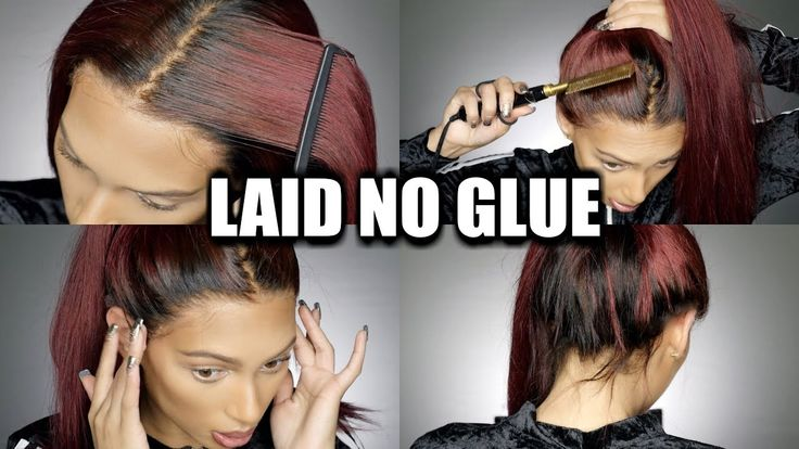 BACK Of Lace Wig ApplicationNO GLUE HIGH PONYTAIL Start To Finish Process [Video] - https://blackhairinformation.com/video-gallery/back-lace-wig-applicationno-glue-high-ponytail-start-finish-process-video/