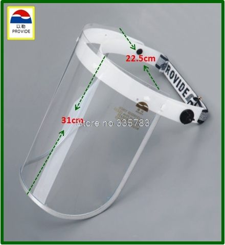 13.93$  Watch now - http://ali6sd.shopchina.info/go.php?t=32805084575 - PROVIDE high quality full face safety masks PC Medical food kitchen Transparent face shield fashion profession safety mask 13.93$ #magazine