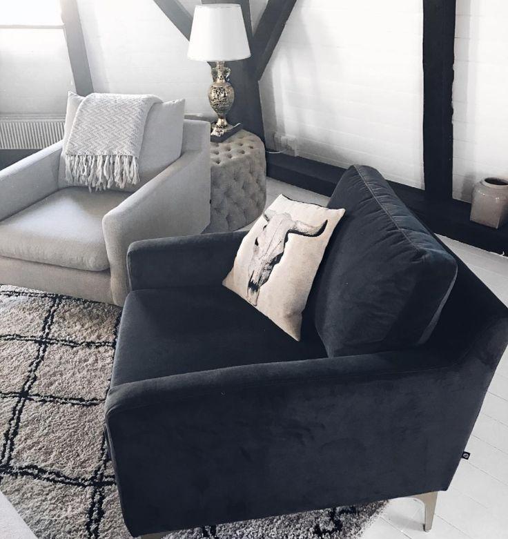 Unser Astha Sessel bei @tinamaria Zuhause  <3 #sofacompany_de #danishdesign #furniture #scandinaviandesign #interiordesign #furnituredesign #nordicinspiration #retrostyle #grey #chair
