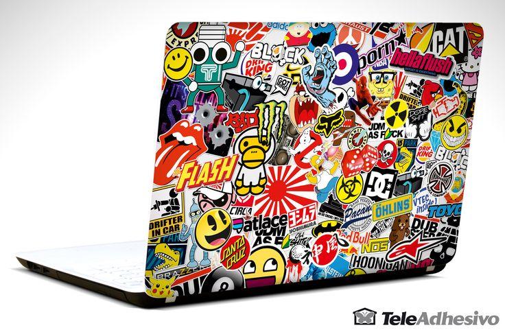 Pegatinas: Sticker Bomb Vinilo, pegatina, adhesivo para portátil, Mac, o Macbook. #vinilosportatil  #vinilosmac #vinilosmacbook