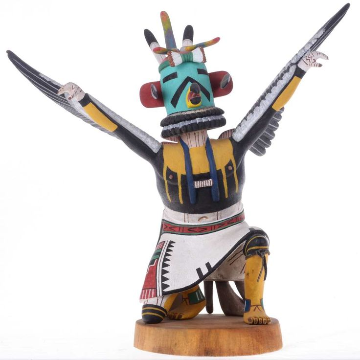recipe: hopi eagle dancer kachina [16]