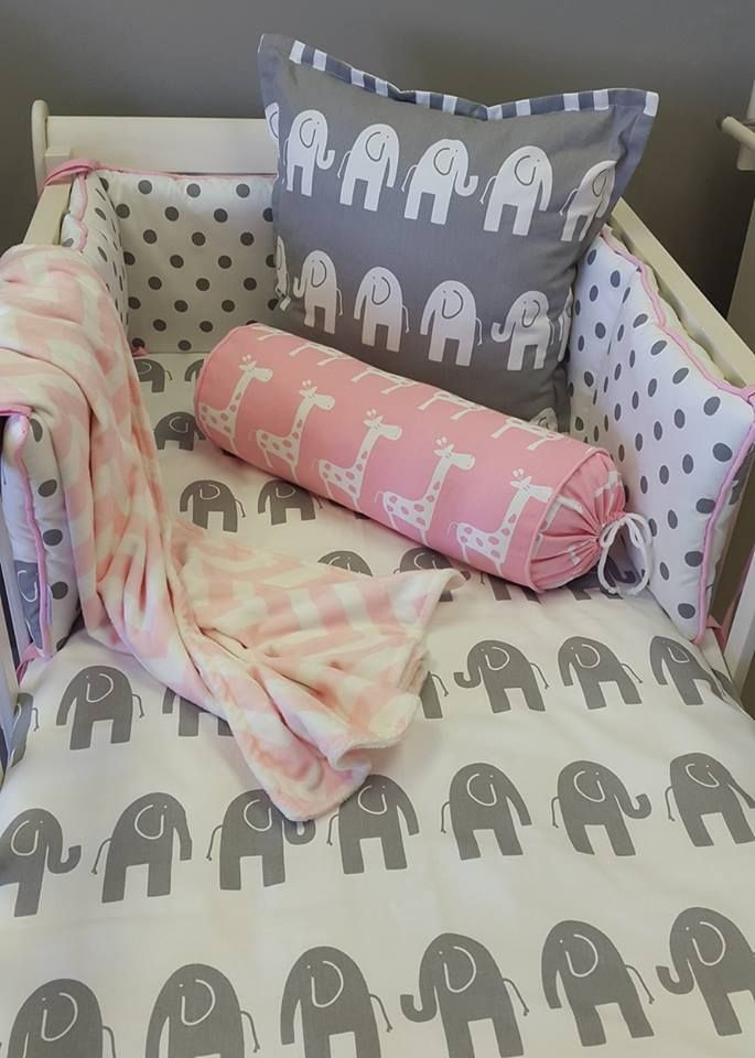 If you're looking for an #AfricanTheme for your #BabyGirl's nursery, then our #Elephant and #Giraffe fabrics, in #PinkandGrey are perfect for you!   #BabyBedding #BabyLinen
