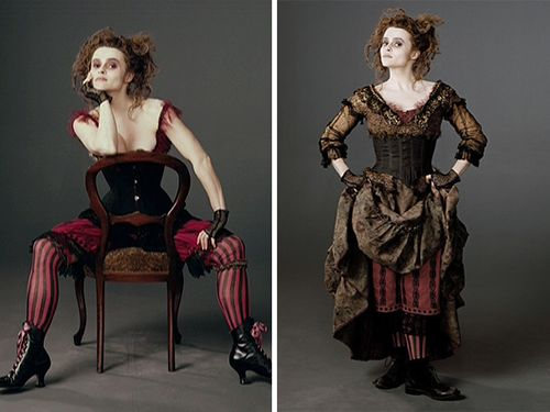Check out Zaf's rundown on recreating the leggy stylings Mrs Lovett in Tim Burton's rendition of Sweeny Todd!