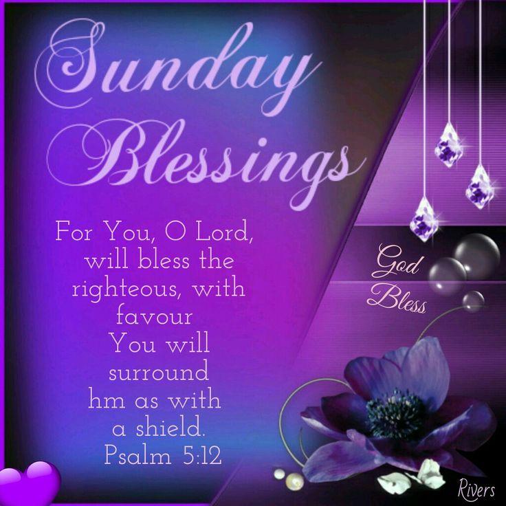 Sunday Blessings (Psalm 5:12)
