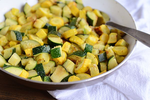 Considering this is the side dish we eat four out of five times during the late summer months, I feel like it's time to share my feelings about the gloriousness of sautéed zucchini and squash and t...