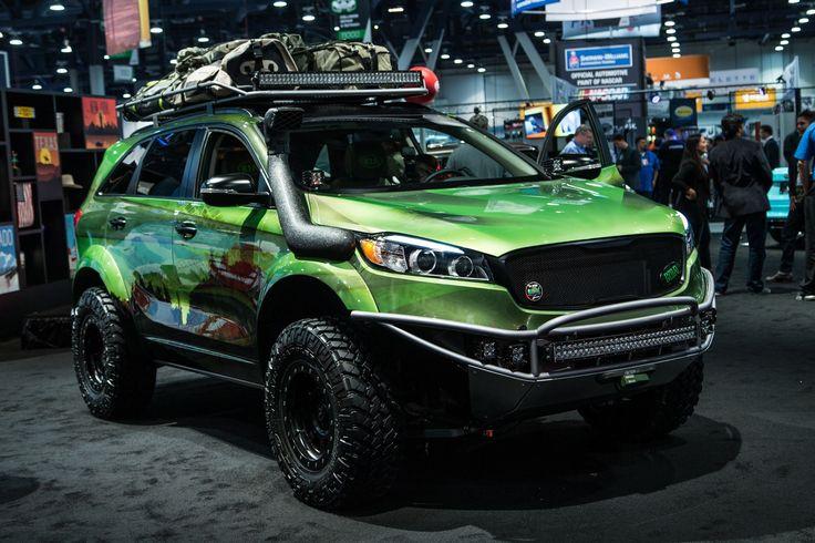 kia sorento off road kit | Photo Gallery 702261 - Off-Roading Kia Sorento Concept Teased for SEMA ...