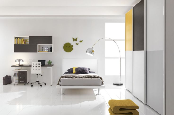 Dynamic style, modern and avant-garde in the bedrooms of the line Spar Junior. http://www.spar.it/sp/it/arredamento/proposta-w-12.3sp?cts=camerette_web