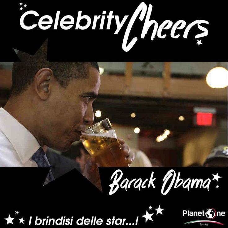 Questo brindisi è… presidenziale! Niente cocktail per il Presidente Obama, a un pestato o un up, lui preferisce una pinta di birra. Genuina e decisa. Cheers Mr.President!