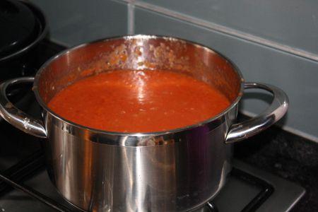 Gepureerde soep