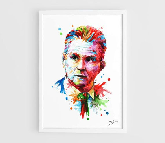 Jupp Heynckes Bayern Munich  A3 Art Prints of the by NazarArt, $20.00