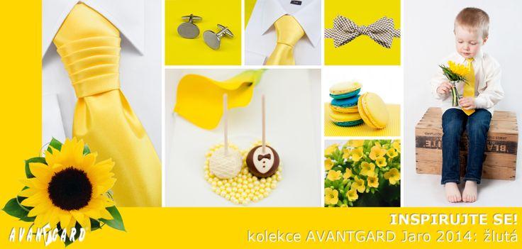 Žlutá inspirace nejen na svatbu / Yellow (wedding) inspiration