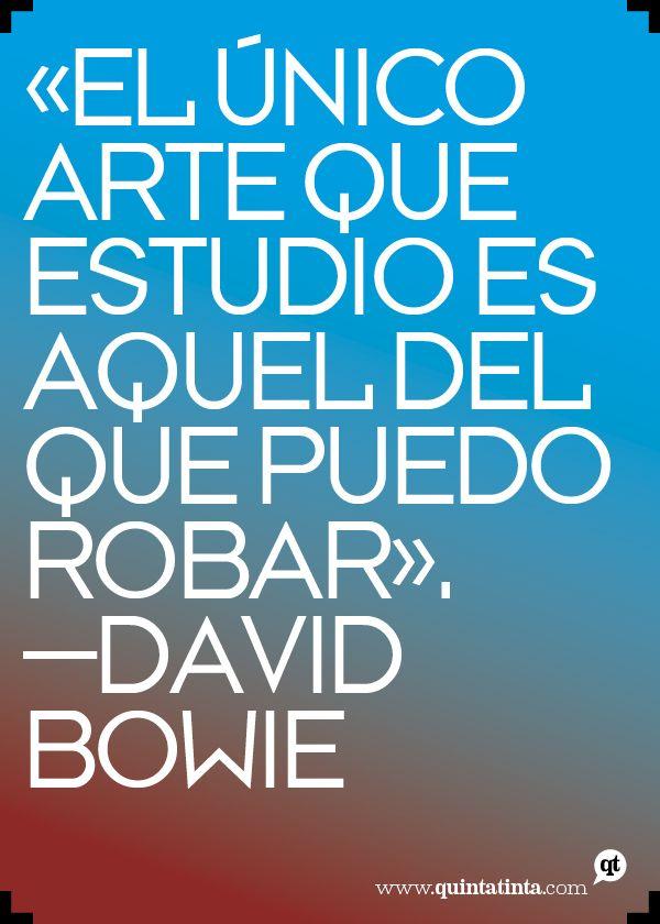 La frase del lunes, por David Bowie